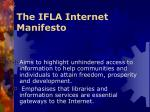 the ifla internet manifesto1