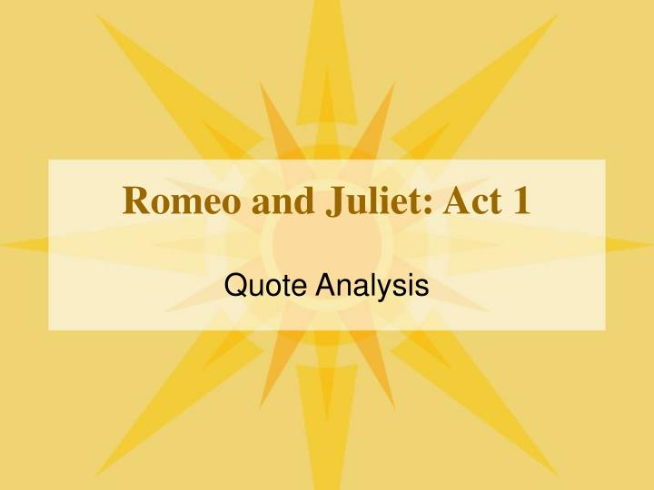 romeo and juliet act 1 n.