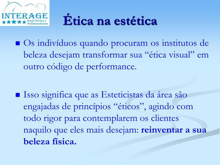 Ética na estética