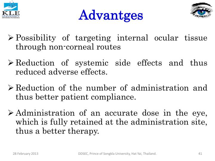 Advantges