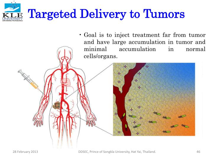 Targeted Delivery to Tumors