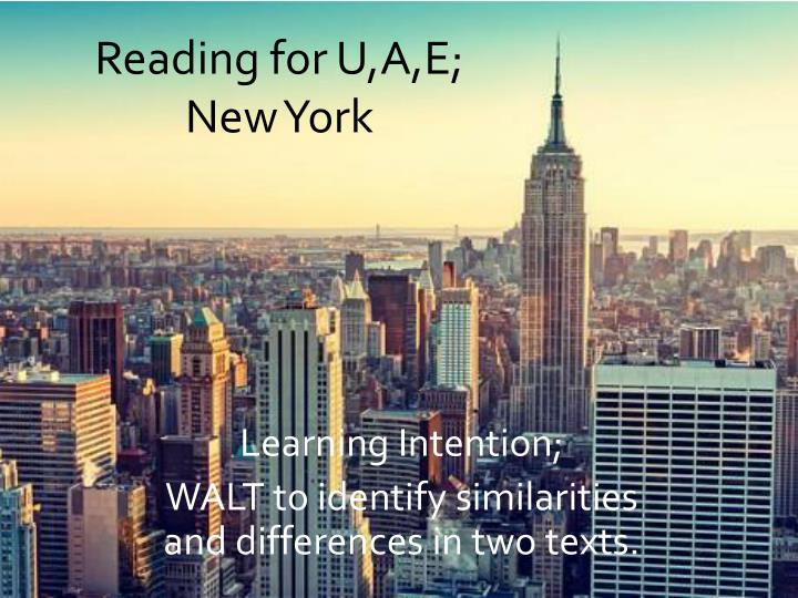 reading for u a e new york n.
