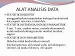 alat analisis data