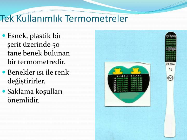 Tek Kullanımlık Termometreler