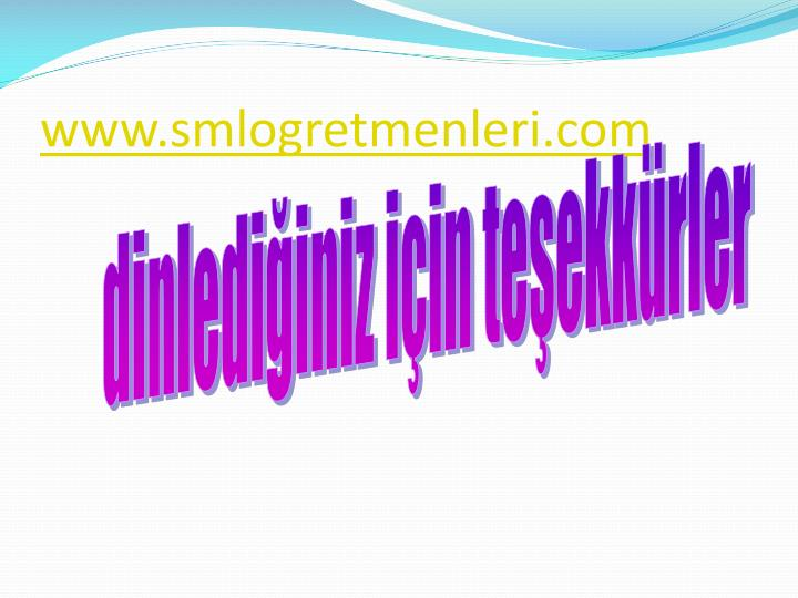 www.smlogretmenleri.com