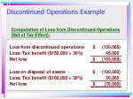 discontinued operations example1