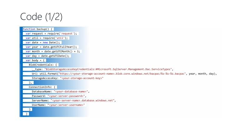 Code (1/2)