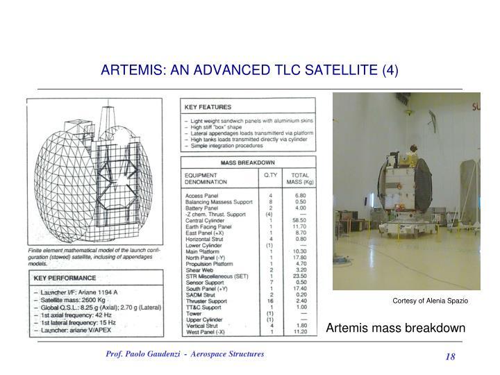 ARTEMIS: AN ADVANCED TLC SATELLITE (4)