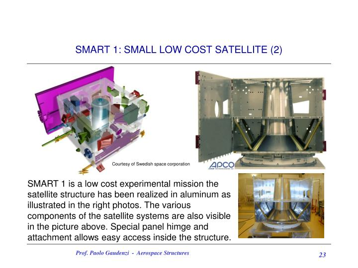 SMART 1: SMALL LOW COST SATELLITE (2)