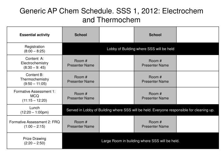 Generic ap chem schedule sss 1 2012 electrochem and thermo c hem
