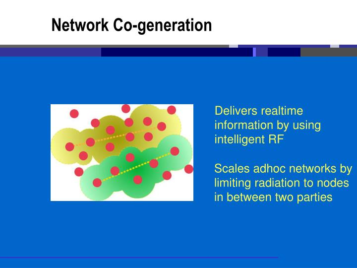 Network Co-generation