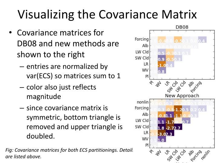 Visualizing the Covariance Matrix