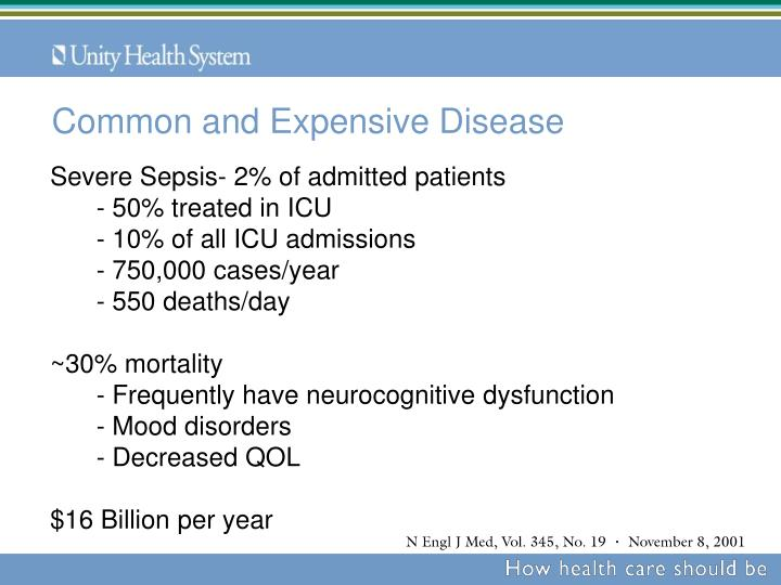 Common and Expensive Disease