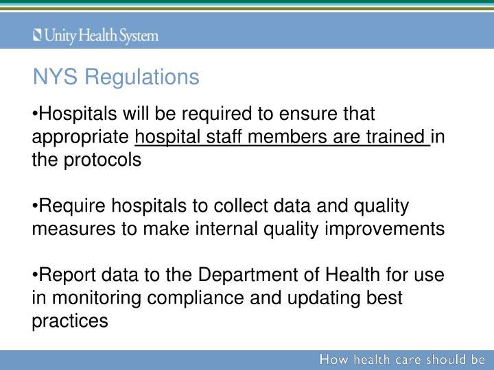 NYS Regulations