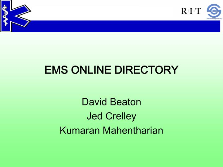 ems online directory