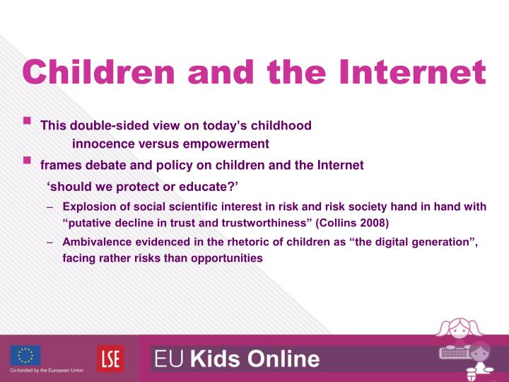 This double-sided view on today's childhood innocence versus empowerment