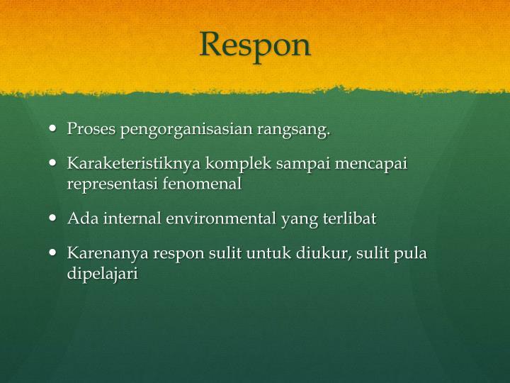 Respon
