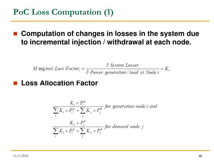 PoC Loss Computation (1)