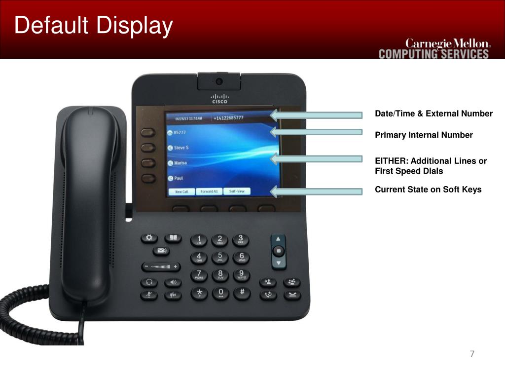 PPT - Cisco IP Phone Training PowerPoint Presentation - ID