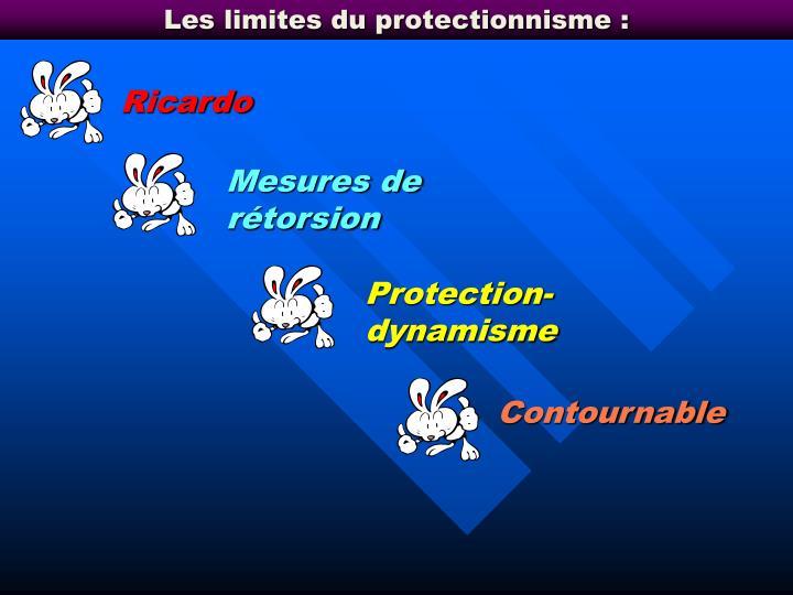 Les limites du protectionnisme :