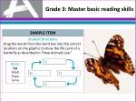 grade 3 master basic reading skills