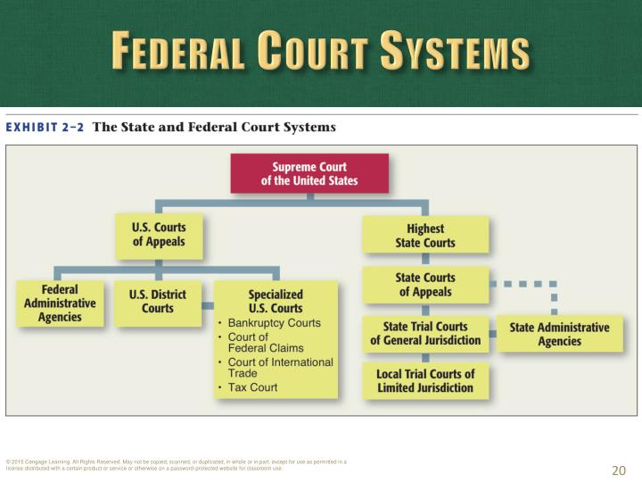 Federal Court Systems