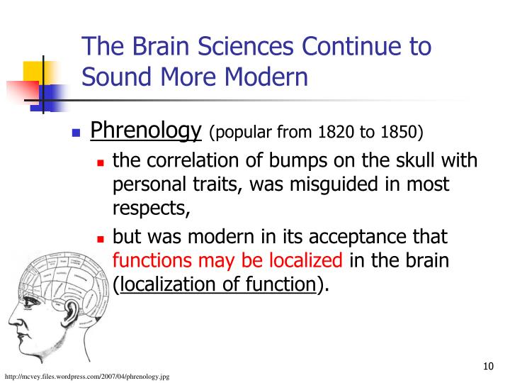 The Brain Sciences Continue to Sound More Modern