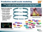 predictive multi scale modeling