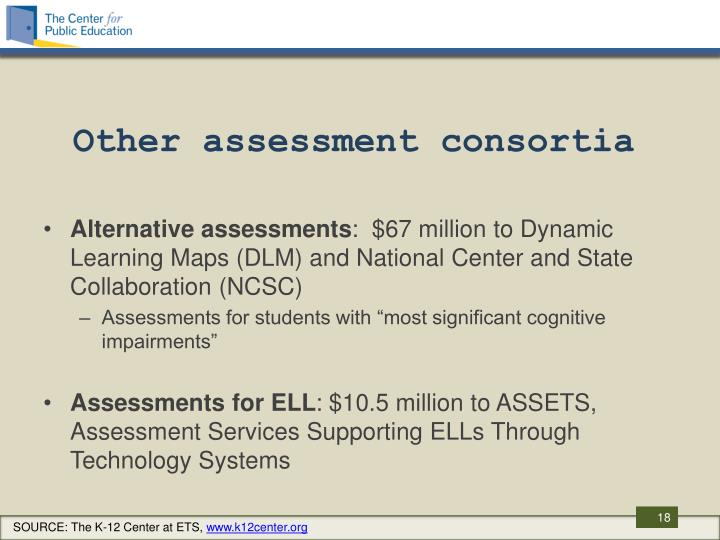 Other assessment consortia