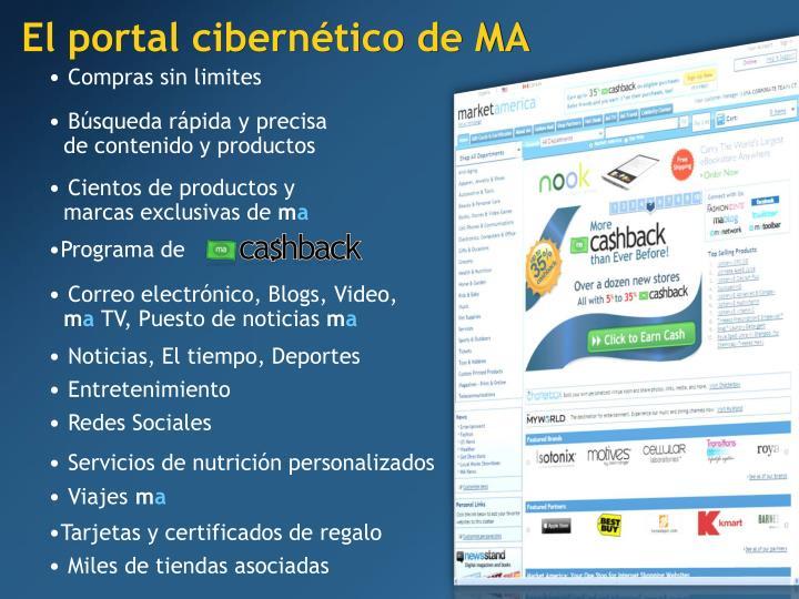 El portal cibernético de MA