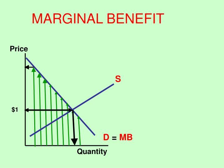 MARGINAL BENEFIT
