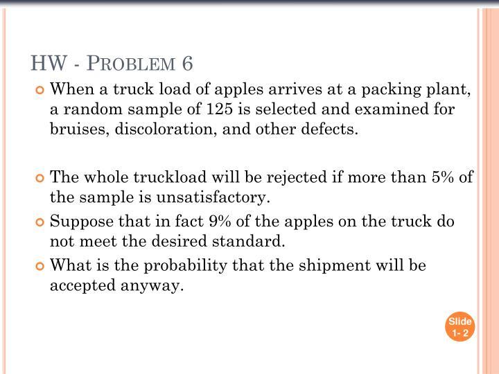 Hw problem 6