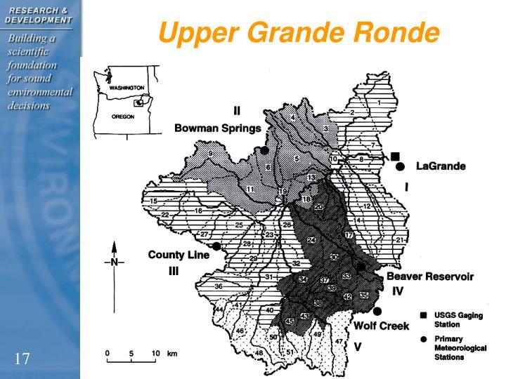 Upper Grande Ronde
