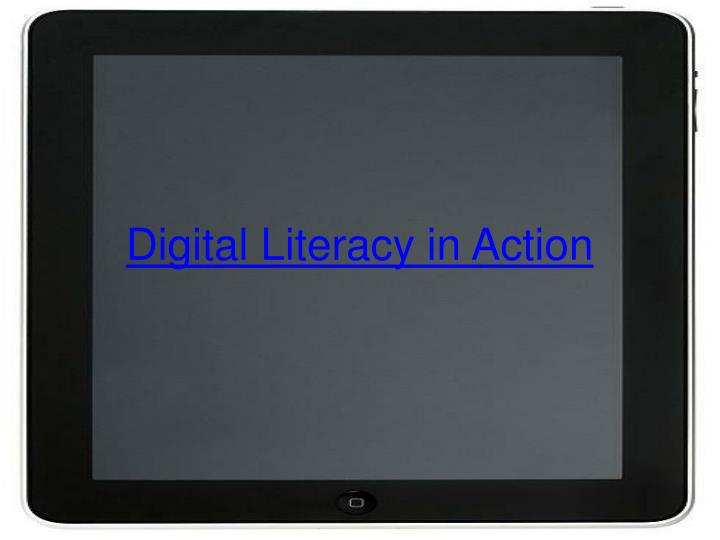 Digital Literacy in Action