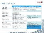mps for msp