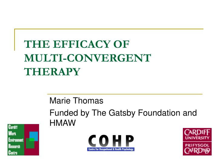 THE EFFICACY OF