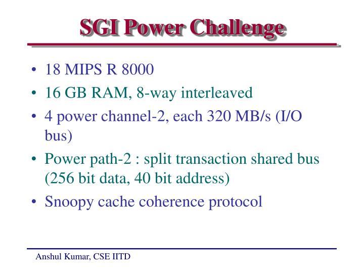 SGI Power Challenge
