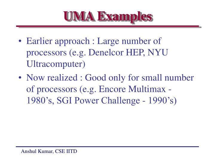 UMA Examples