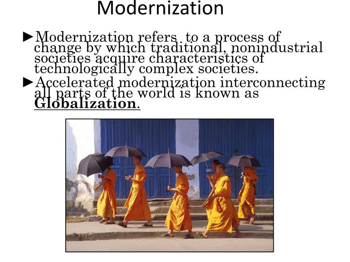 modernization of the world essay