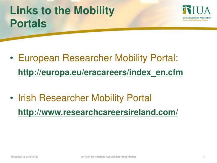 European Researcher Mobility Portal: