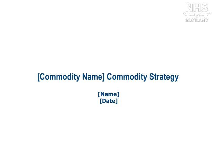 commodity name commodity strategy n.