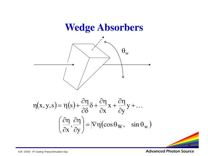 Wedge Absorbers