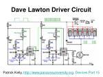 dave lawton driver circuit