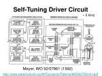 self tuning driver circuit