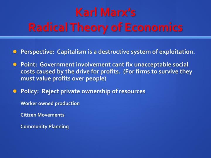Karl Marx's