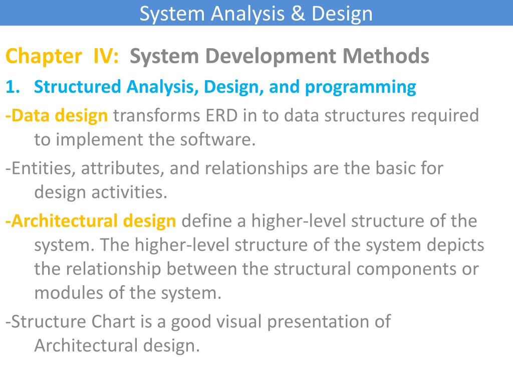 Ppt System Analysis Design Powerpoint Presentation Free Download Id 6089513