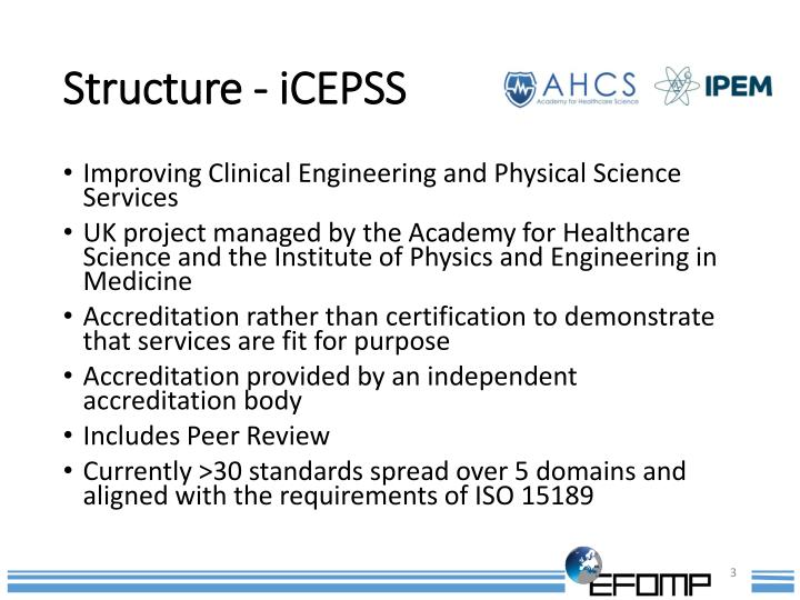 Structure icepss