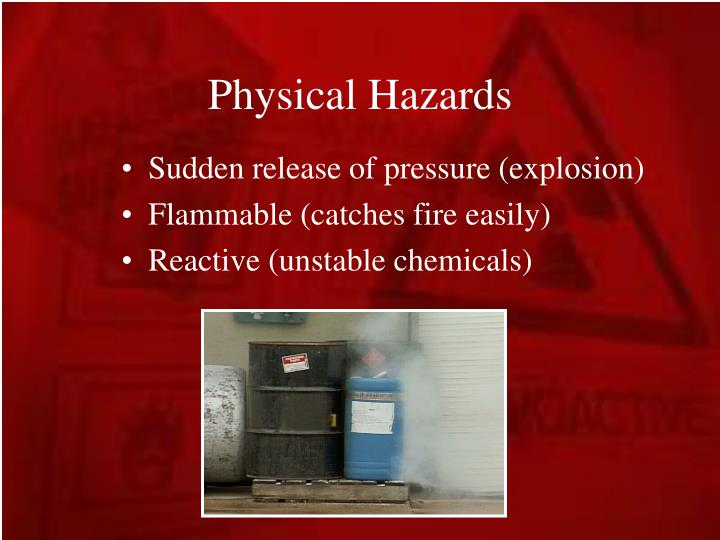 Physical Hazards
