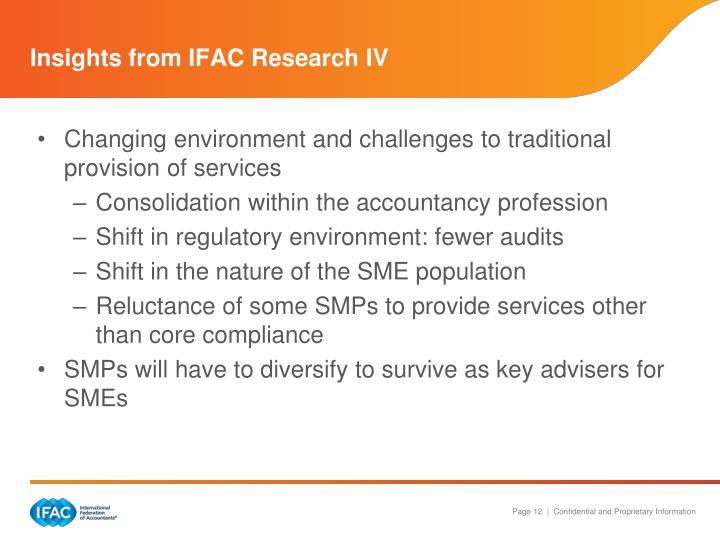 Insights from IFAC Research IV