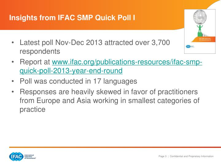 Insights from ifac smp quick poll i